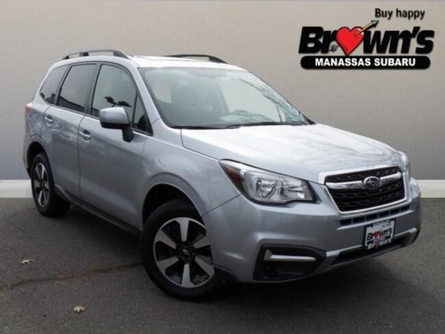 Used 2018 Subaru Forester 2.5i Premium SUV Lineartronic CVT Manassas