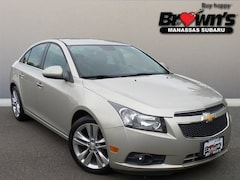 2013 Chevrolet Cruze LTZ Sedan 6-Speed Automatic Electronic with Overdrive