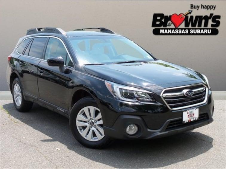 Used 2019 Subaru Outback 2.5i Premium SUV CVT Lineartronic Manassas