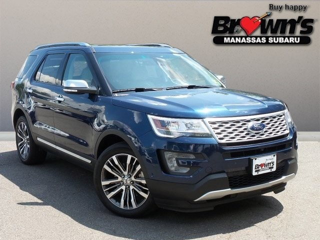 2017 Ford Explorer Platinum SUV 6-Speed Automatic with Select-Shift