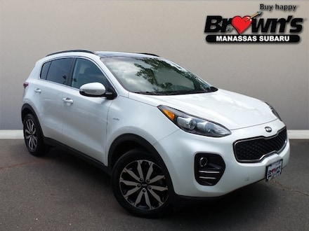 2019 Kia Sportage EX SUV 6-Speed Automatic Electronic with Overdrive
