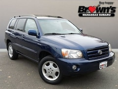 2005 Toyota Highlander Limited SUV 5-Speed Automatic with Overdrive