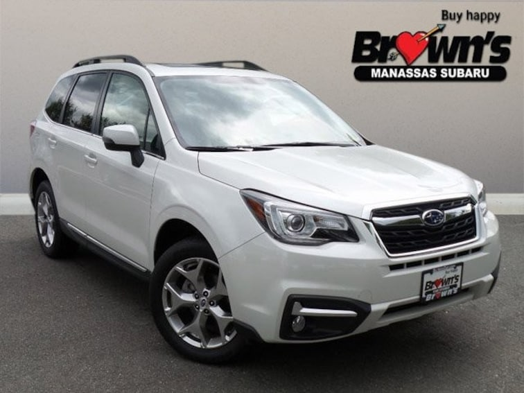 Used 2018 Subaru Forester 2.5i Touring SUV Lineartronic CVT Manassas
