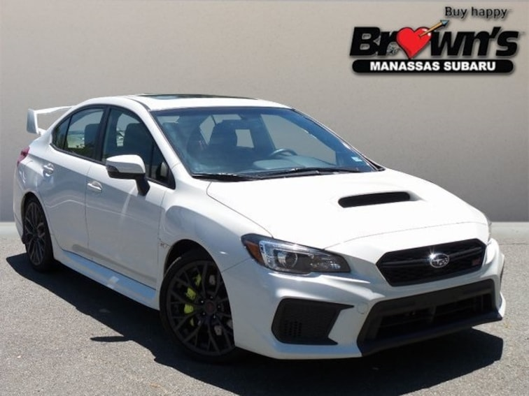 Used 2018 Subaru WRX STi Limited Sedan Close-Ratio 6-Speed Manual Manassas