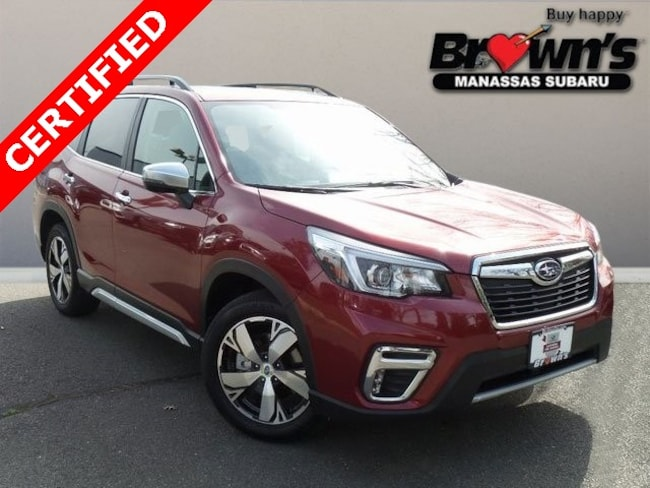 Certified Used 2019 Subaru Forester Touring SUV Lineartronic CVT Manassas
