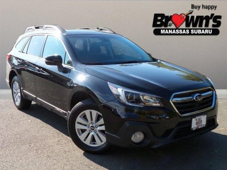 Certified Used 2018 Subaru Outback 2.5i Premium SUV CVT Lineartronic Manassas