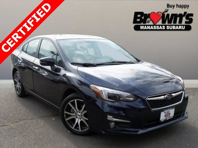 Certified Used 2019 Subaru Impreza 2.0i Limited Sedan CVT Lineartronic Manassas