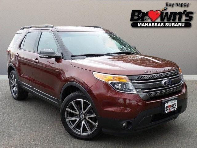 2015 Ford Explorer XLT SUV 6-Speed Automatic with Select-Shift
