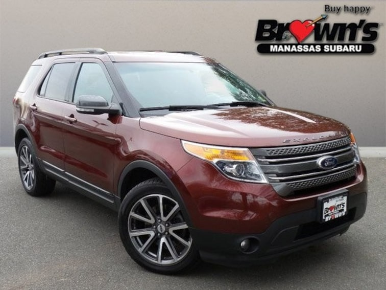 Used 2015 Ford Explorer XLT SUV 6-Speed Automatic with Select-Shift Manassas