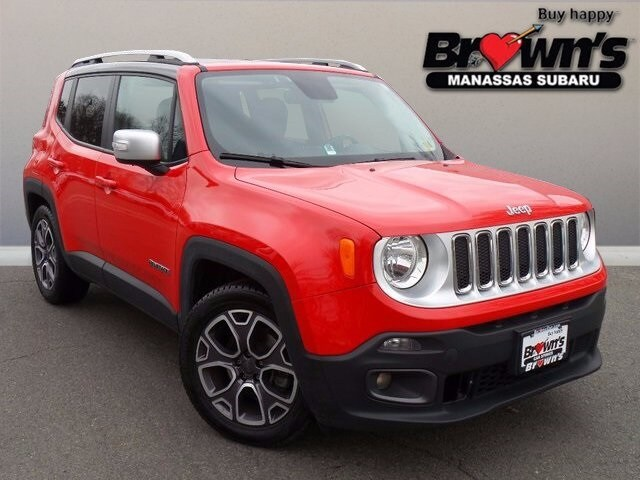 2015 Jeep Renegade Limited SUV 9-Speed 948TE Automatic