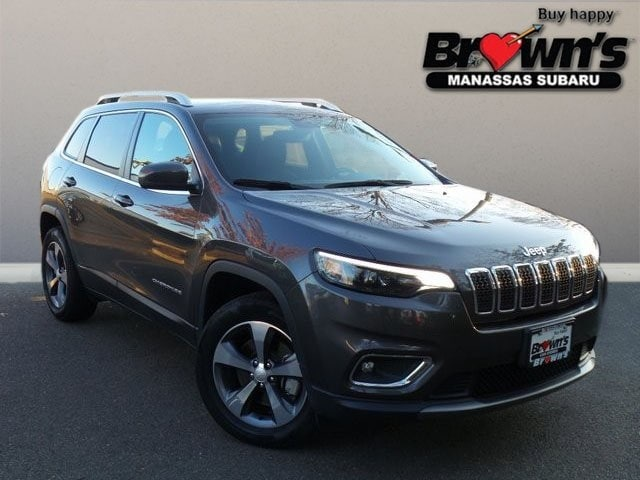 2019 Jeep Cherokee Limited SUV 9-Speed 948TE Automatic