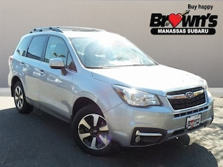 2018 Subaru Forester 2.5i Limited SUV Lineartronic CVT
