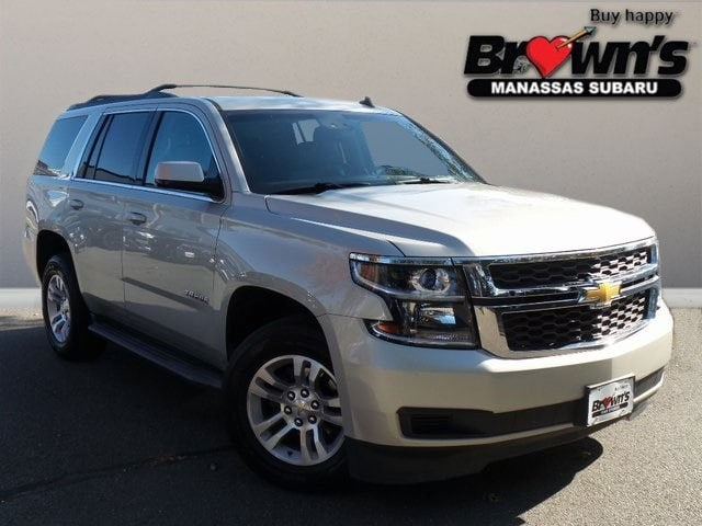 2015 Chevrolet Tahoe LT SUV 6-Speed Automatic Electronic with Overdrive