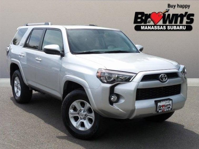 Used 2019 Toyota 4Runner SR5 SUV 5-Speed Automatic with Overdrive Manassas