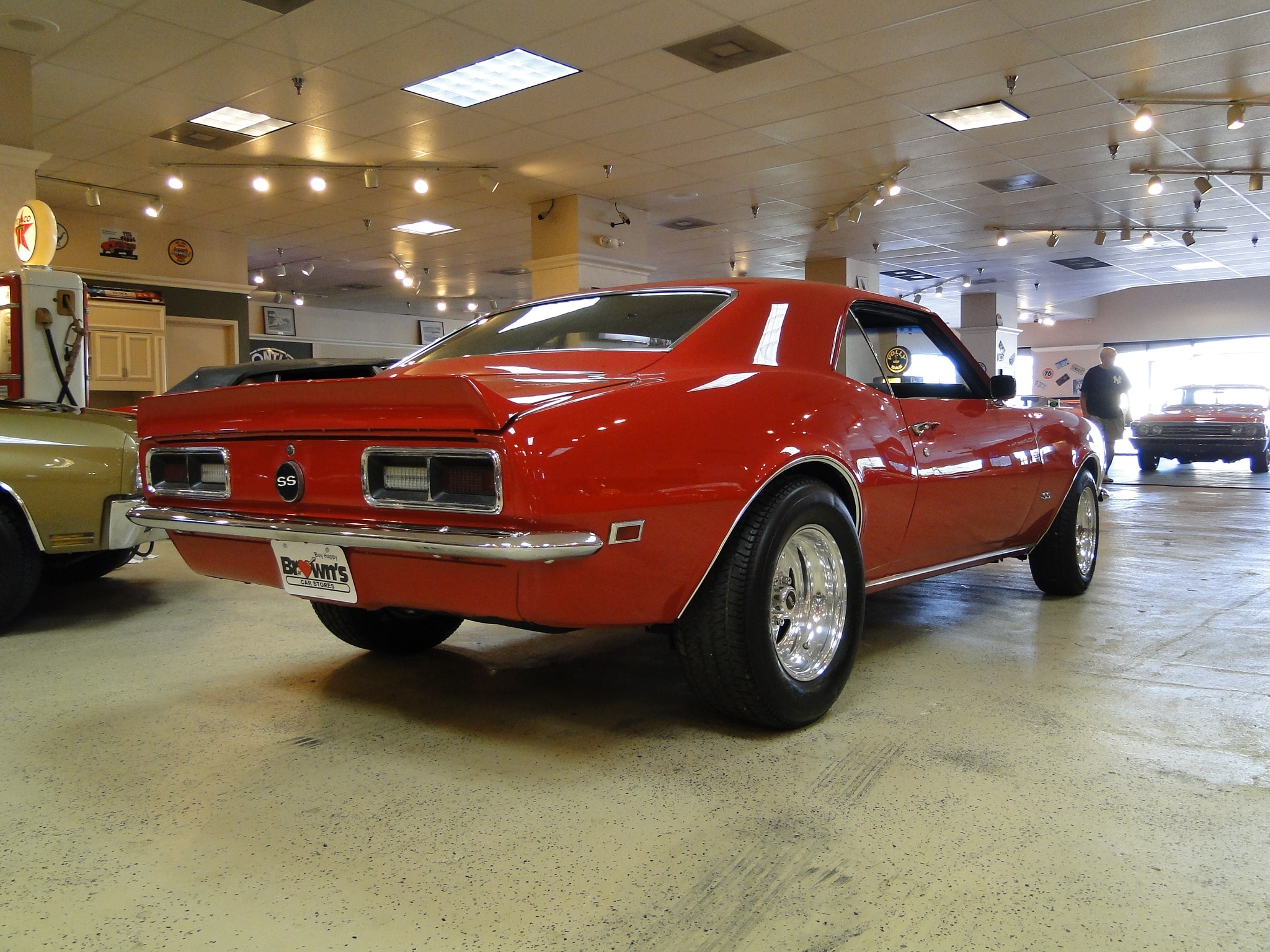 new 1968 chevrolet camaro sold to ar glen burnie md baltimore r0572. Black Bedroom Furniture Sets. Home Design Ideas