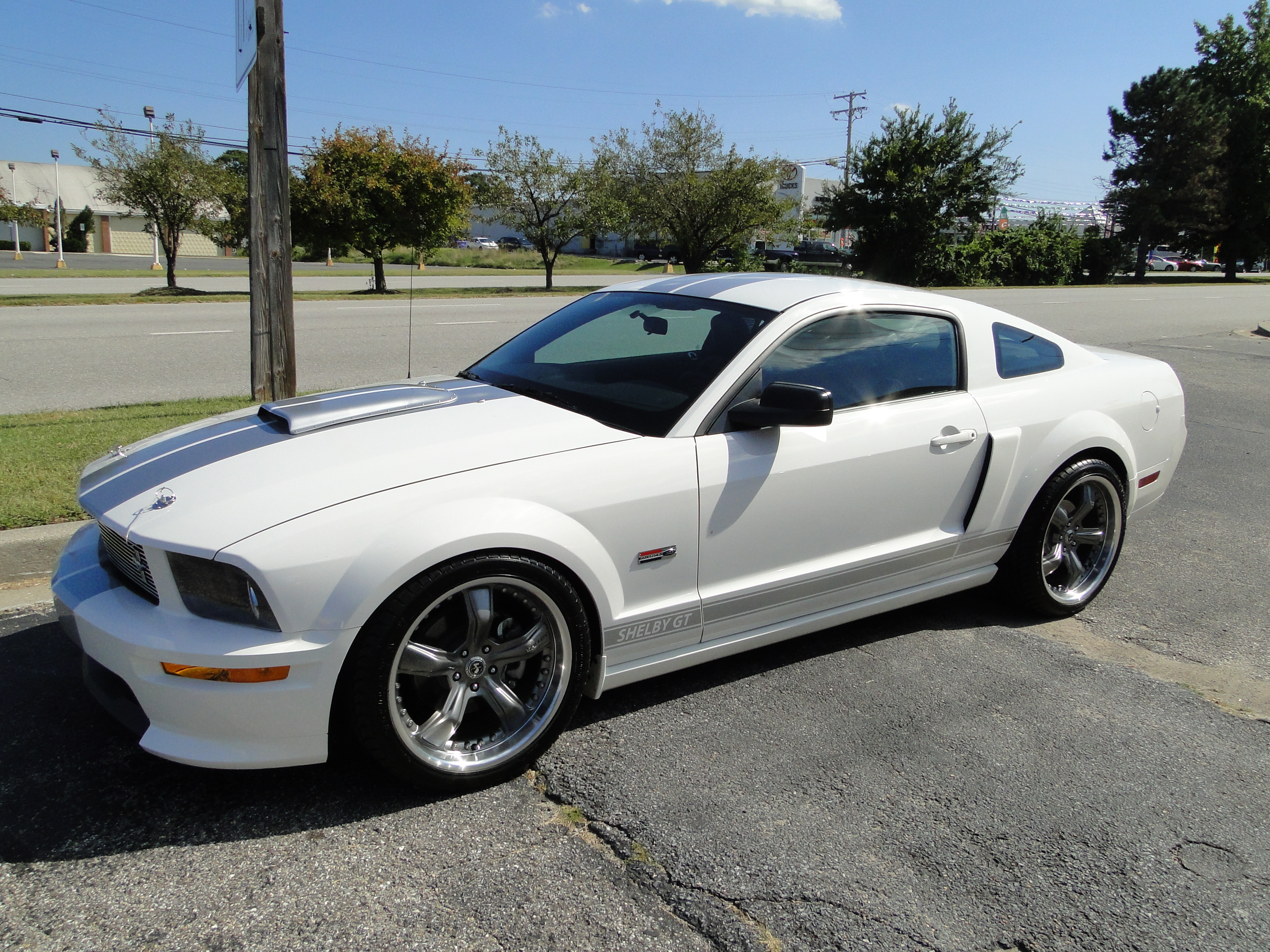 new 2007 ford mustang shelby gt glen burnie md baltimore r0235. Black Bedroom Furniture Sets. Home Design Ideas