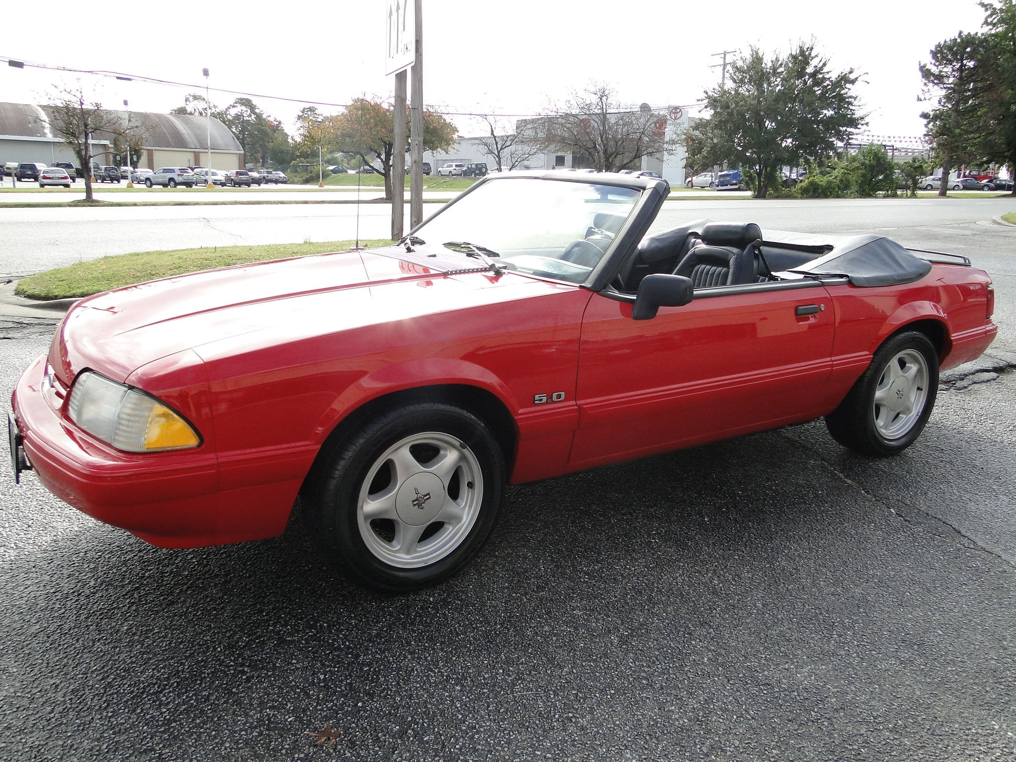 Used 1992 ford mustang lx 5 0l sold for sale stock number r0424