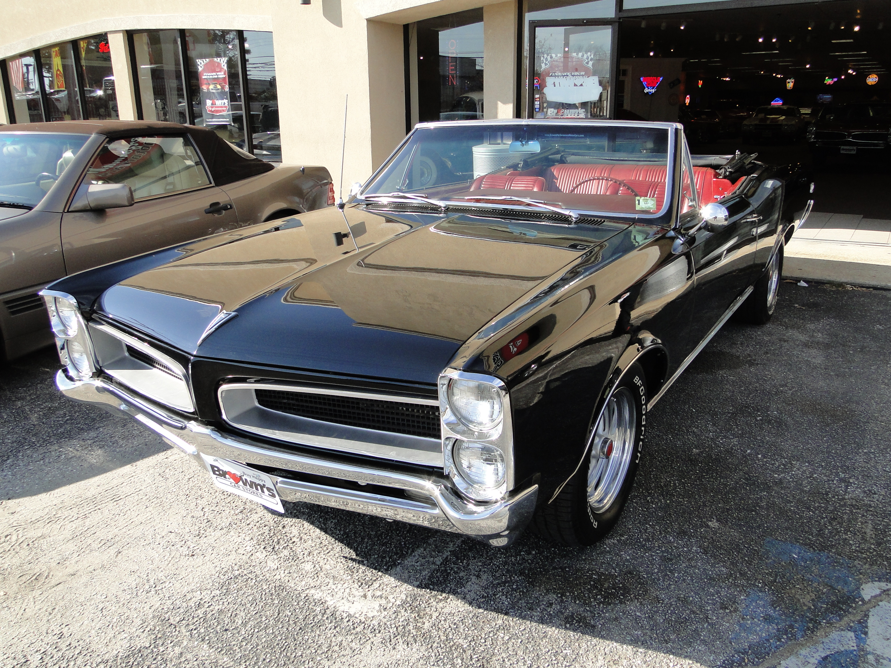 1966 Pontiac Tempest GTO Convertible muscle classic ...