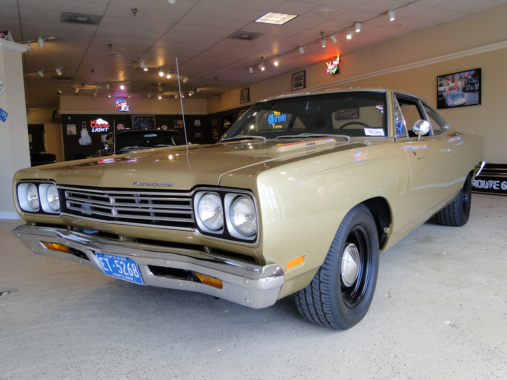 New 1969 Plymouth Roadrunner SOLD TO MD
