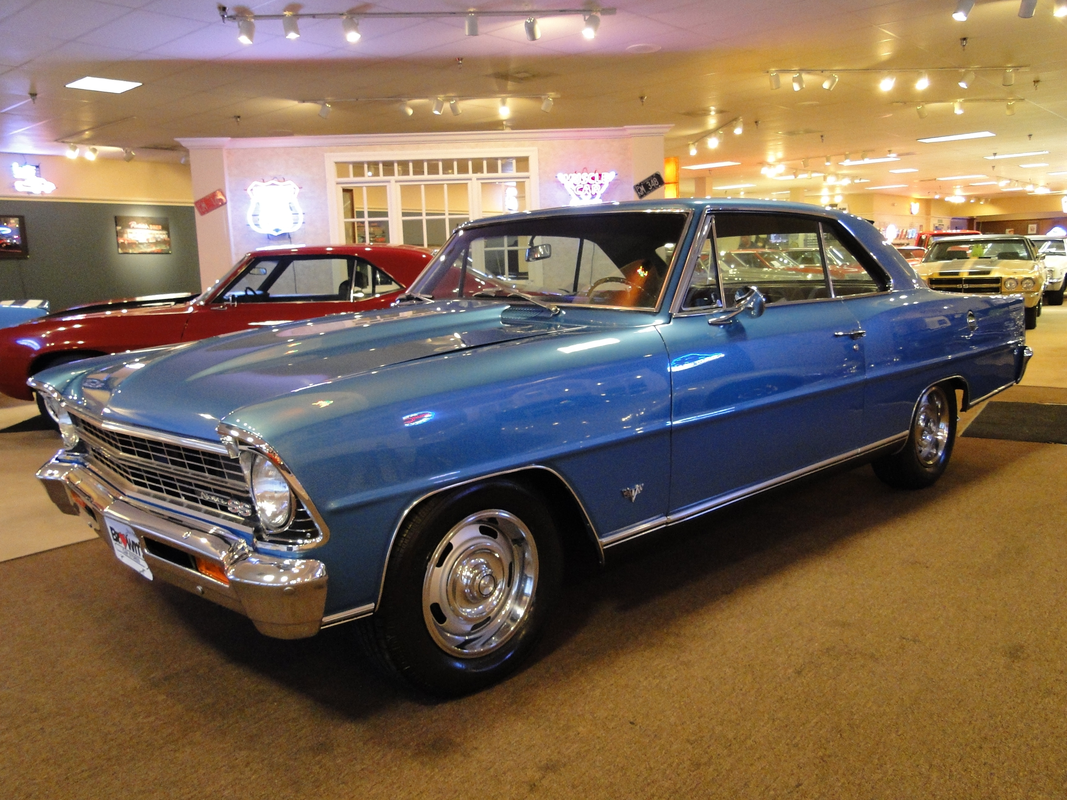 used 1967 chevrolet nova ss numbers matching for sale stock number. Black Bedroom Furniture Sets. Home Design Ideas