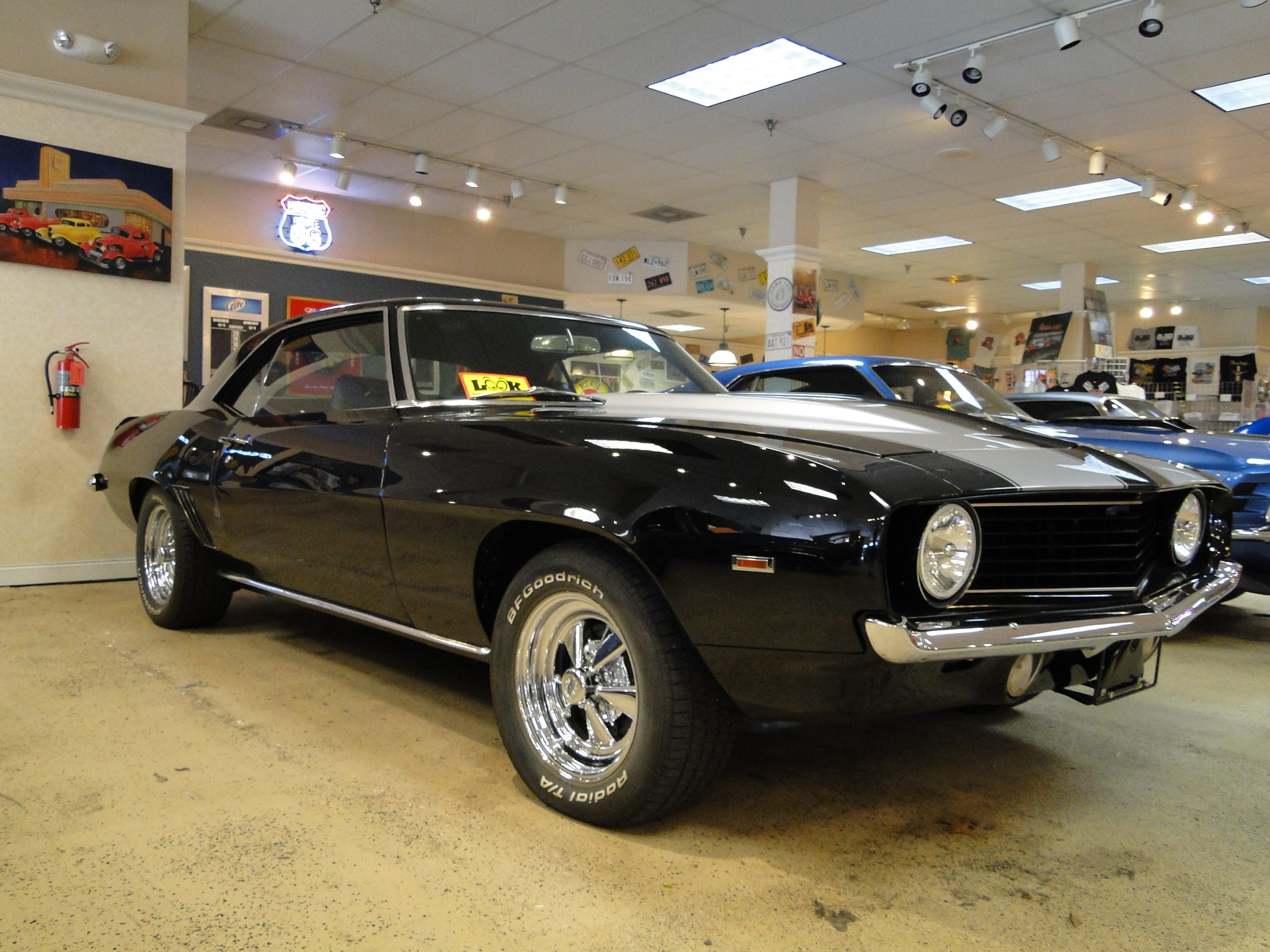 new 1969 chevrolet camaro sold to ar glen burnie md baltimore r0651. Black Bedroom Furniture Sets. Home Design Ideas