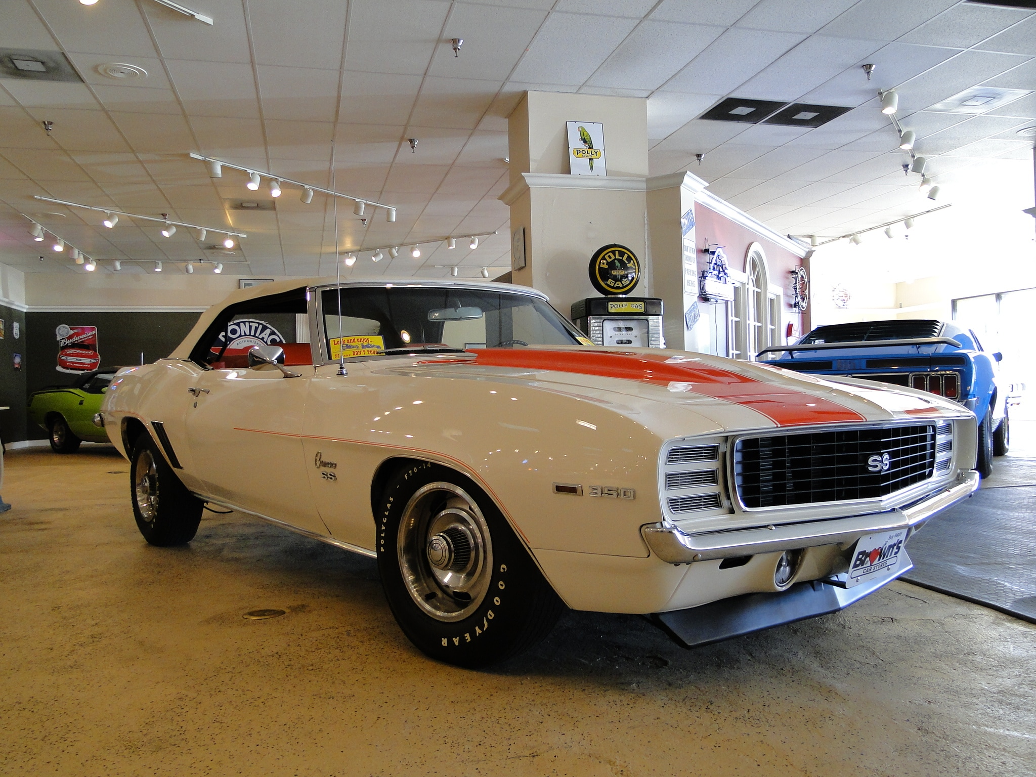 1969 Chevrolet Camaro RS/SS Indy Pace Car Convertible Convertible