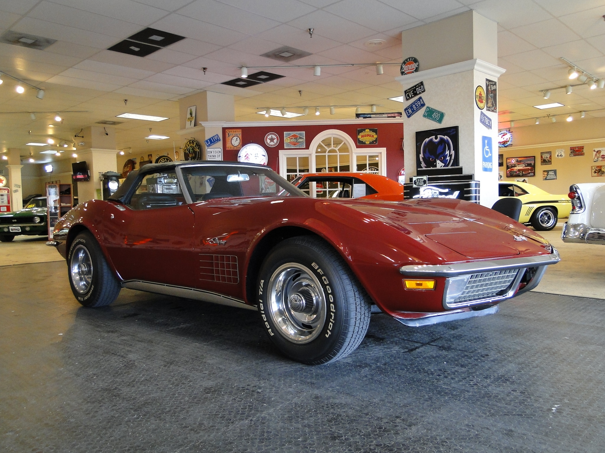 1970 Chevrolet Corvette Numbers Matching Convertible