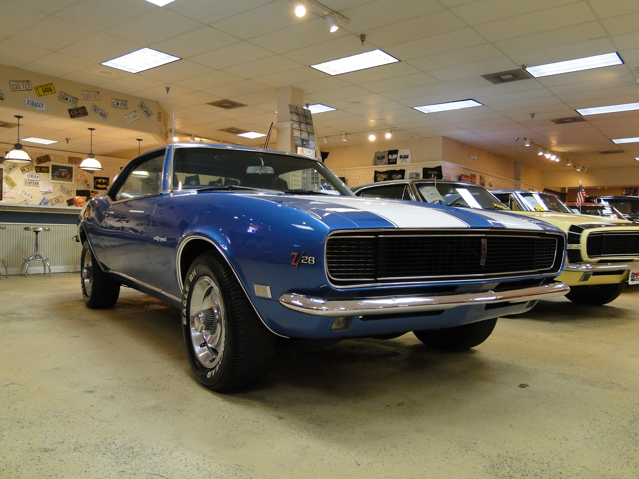 New 1968 Chevrolet Camaro Numbers Matching Z/28 RS SOLD TO PA ...