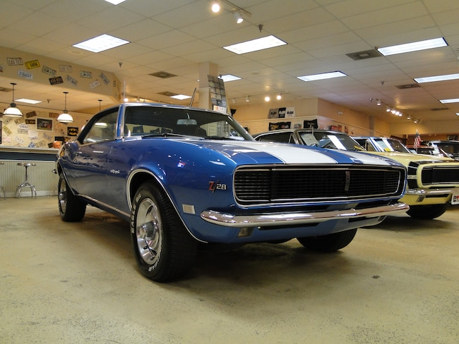 New 1968 Chevrolet Camaro Numbers Matching Z/28 RS SOLD TO PA | Glen