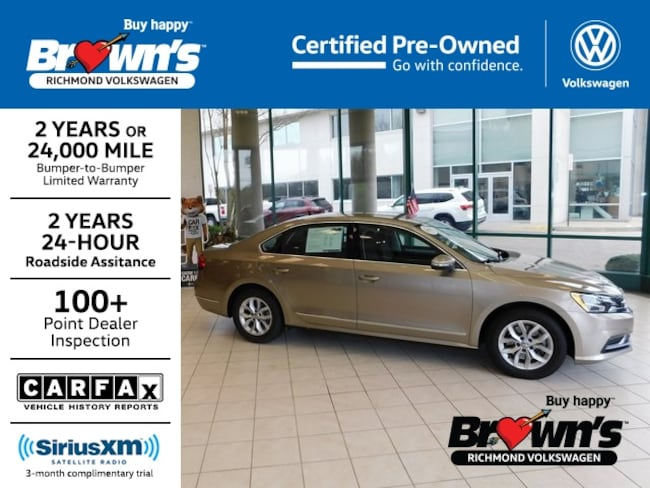 Used 2016 Volkswagen Passat 1.8T S Sedan Richmond VA