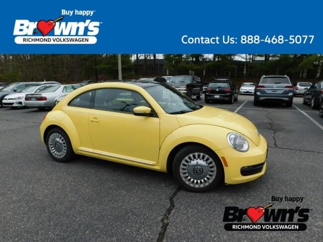 Used 2014 Volkswagen Beetle 2.5L Hatchback Richmond VA