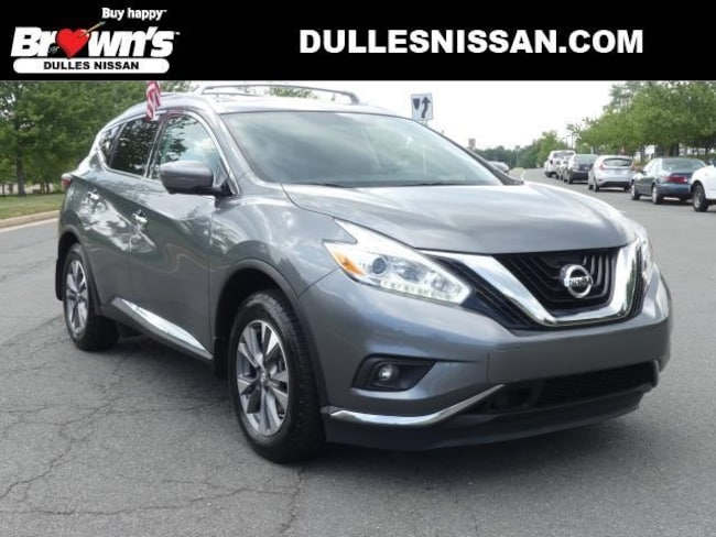 Certified Pre-Owned 2017 Nissan Murano SL For Sale | Dulles