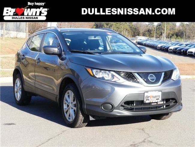 2018 Nissan Rogue Sport SV SUV DOHC 2L CVT with Xtronic R7312