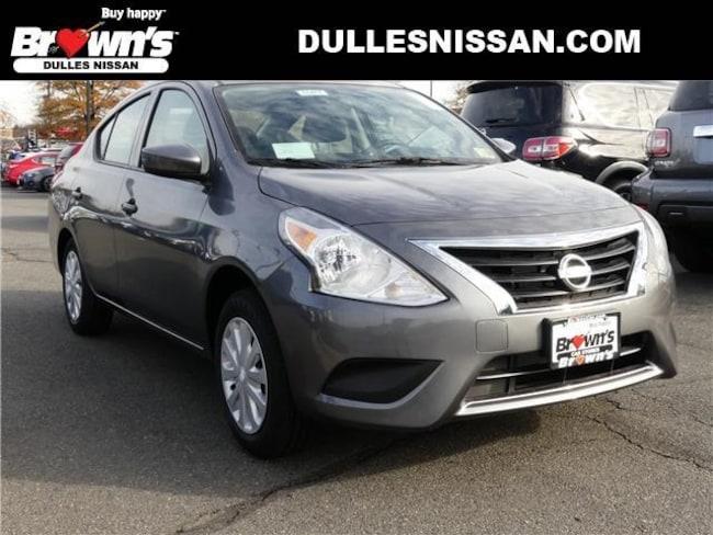 2019 Nissan Versa 1.6 S Sedan Fairfax VA