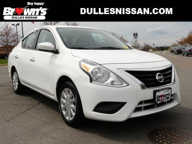 2017 Nissan Versa 1.6 SV Sedan I4 DOHC 16V 1.6L CVT with Xtronic P7717 Dulles & Sterling
