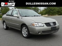 2005 Nissan Sentra 1.8 S Sedan I4 DOHC 16V 1.8L 5-Speed Manual with Overdrive A11483