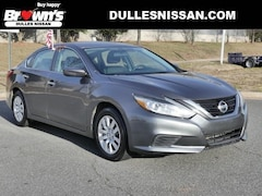 2016 Nissan Altima 2.5 S Sedan 4-Cylinder DOHC 16V 2.5L CVT with Xtronic A11520