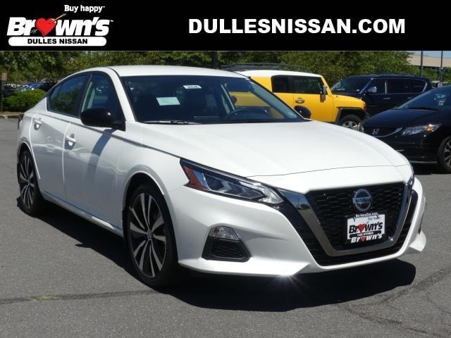 New 2020 Nissan Altima 2 5 Sr For Sale Sterling Va