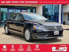 2015 Volkswagen Passat 1.8T Wolfsburg Edition Sedan 4-Cylinder DOHC 1.8L 6-Speed Automatic with Tiptronic M1018A