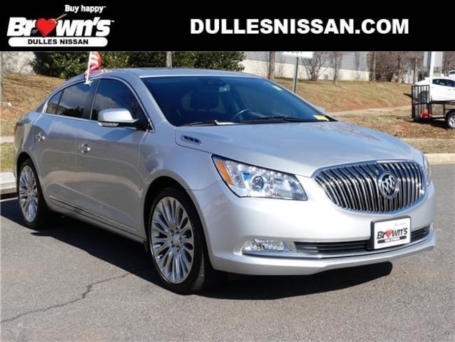 2015 Buick Lacrosse Premium II Group Sedan V6 E85 Flex Fuel SIDI DOHC VVT 3.6L 6-Speed Automatic Electronic with Overdrive A61605 Dulles & Sterling