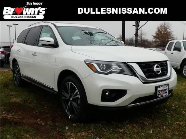 2019 Nissan Pathfinder Platinum SUV Dulles & Sterling