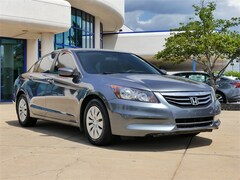 2012 Honda Accord LX Sedan I4 DOHC i-VTEC 16V 2.4L 5-Speed Automatic with Overdrive M1052B