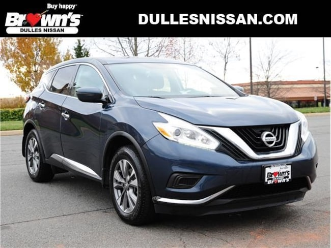 2017 Nissan Murano S SUV V6 3.5L CVT with Xtronic A45482 Dulles & Sterling