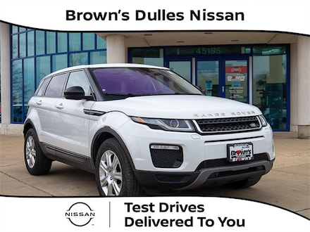 2017 Land Rover Range Rover Evoque SE Premium SUV Turbocharged 2L 9-Speed Automatic M1116