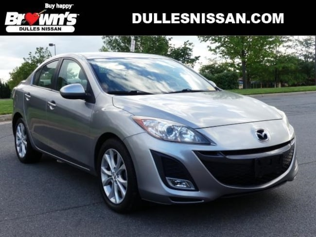 2010 Mazda Mazda3 s Sedan 4-Cylinder SMPI DOHC 2.5L 6-Speed Manual with Overdrive P7749 Dulles & Sterling