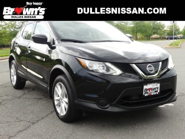 2018 Nissan Rogue Sport S SUV DOHC 2L CVT with Xtronic R7327