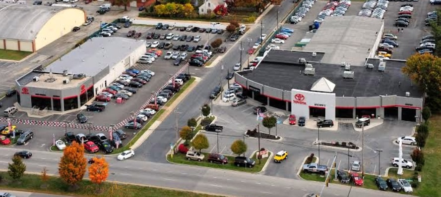 Toyota Dealers In Md >> About Brown S Toyota Of Glen Burnie Maryland Toyota Dealership
