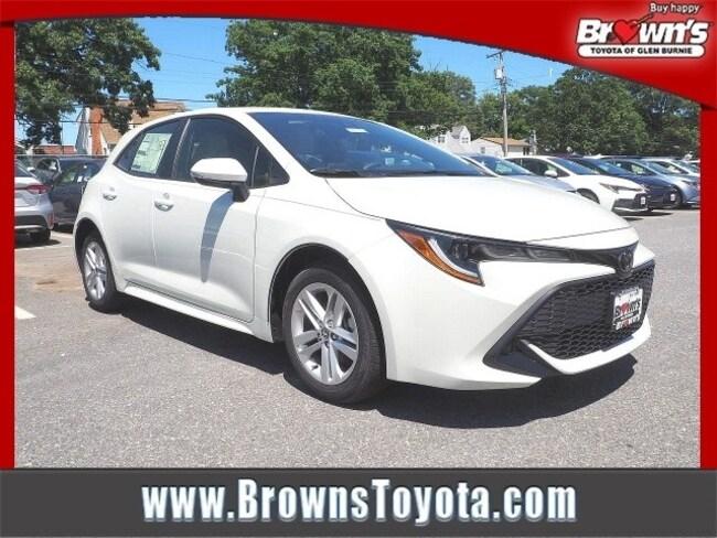 2019 Toyota Corolla Hatchback SE Hatchback Glen Burnie
