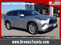 2020 Toyota Highlander Limited Sport Utility