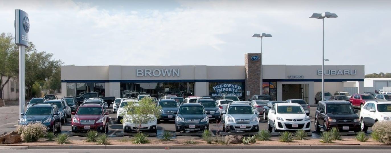 Car Dealerships Amarillo Tx >> Brown Subaru In Amarillo Tx New 2019 Subaru And Used Cars